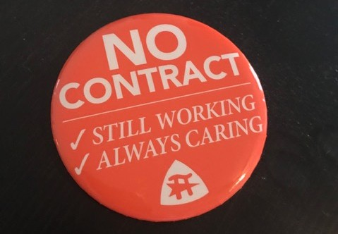 """No Contract"" button"