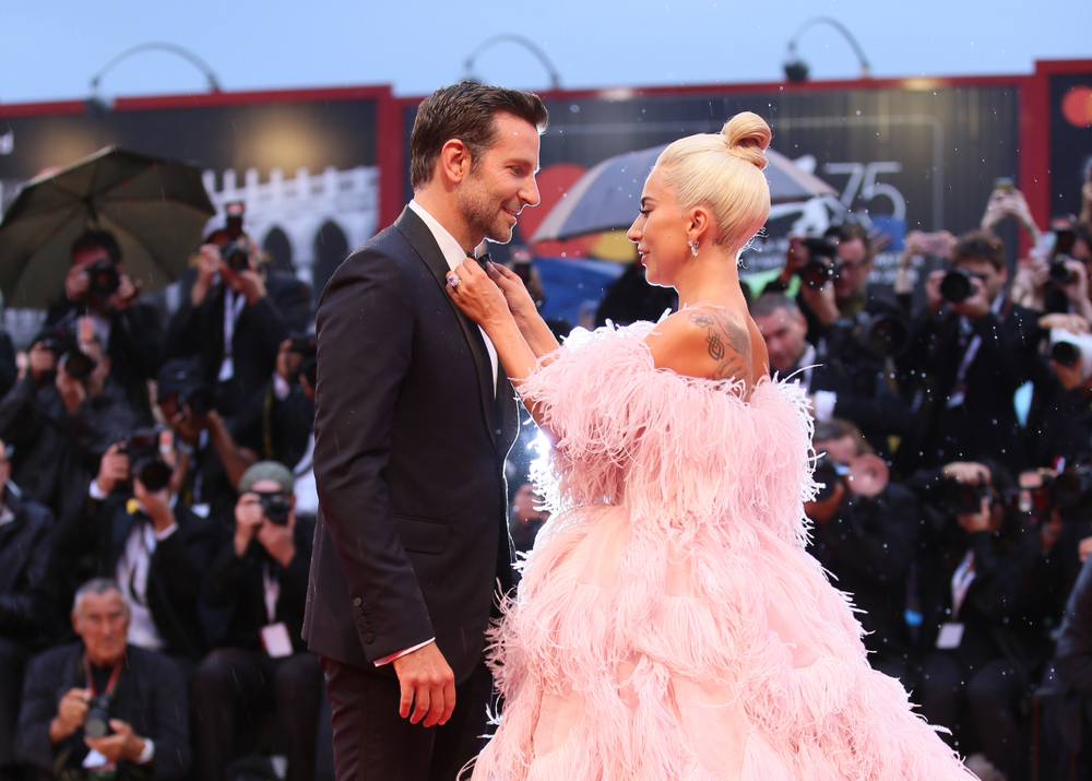 Cooper and Gaga at Venice Premiere