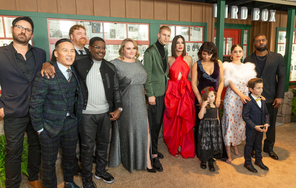 Cast of Bird Box