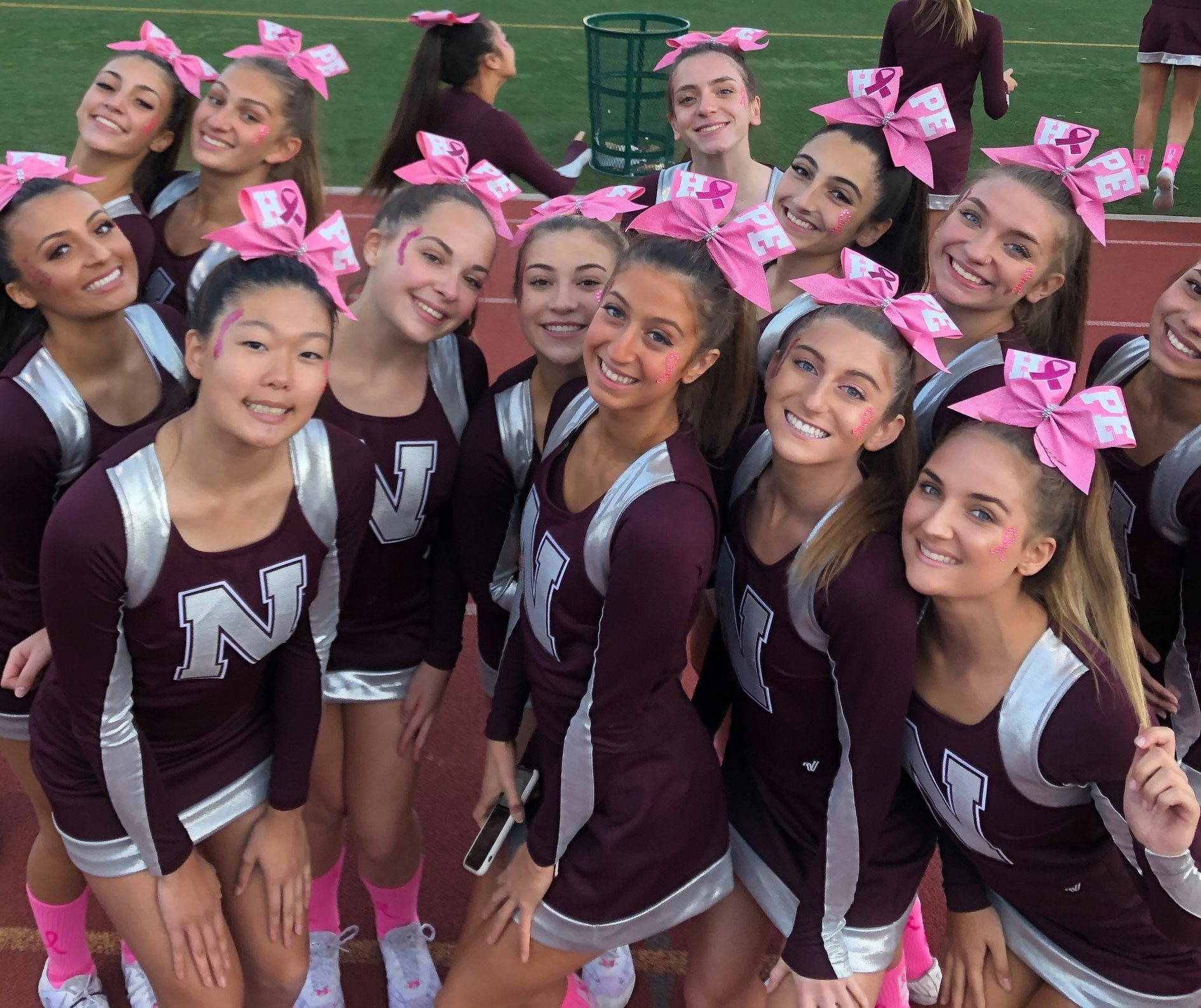 All smiles for Cheer for a Cure!