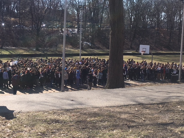 Nutley High School Walkout
