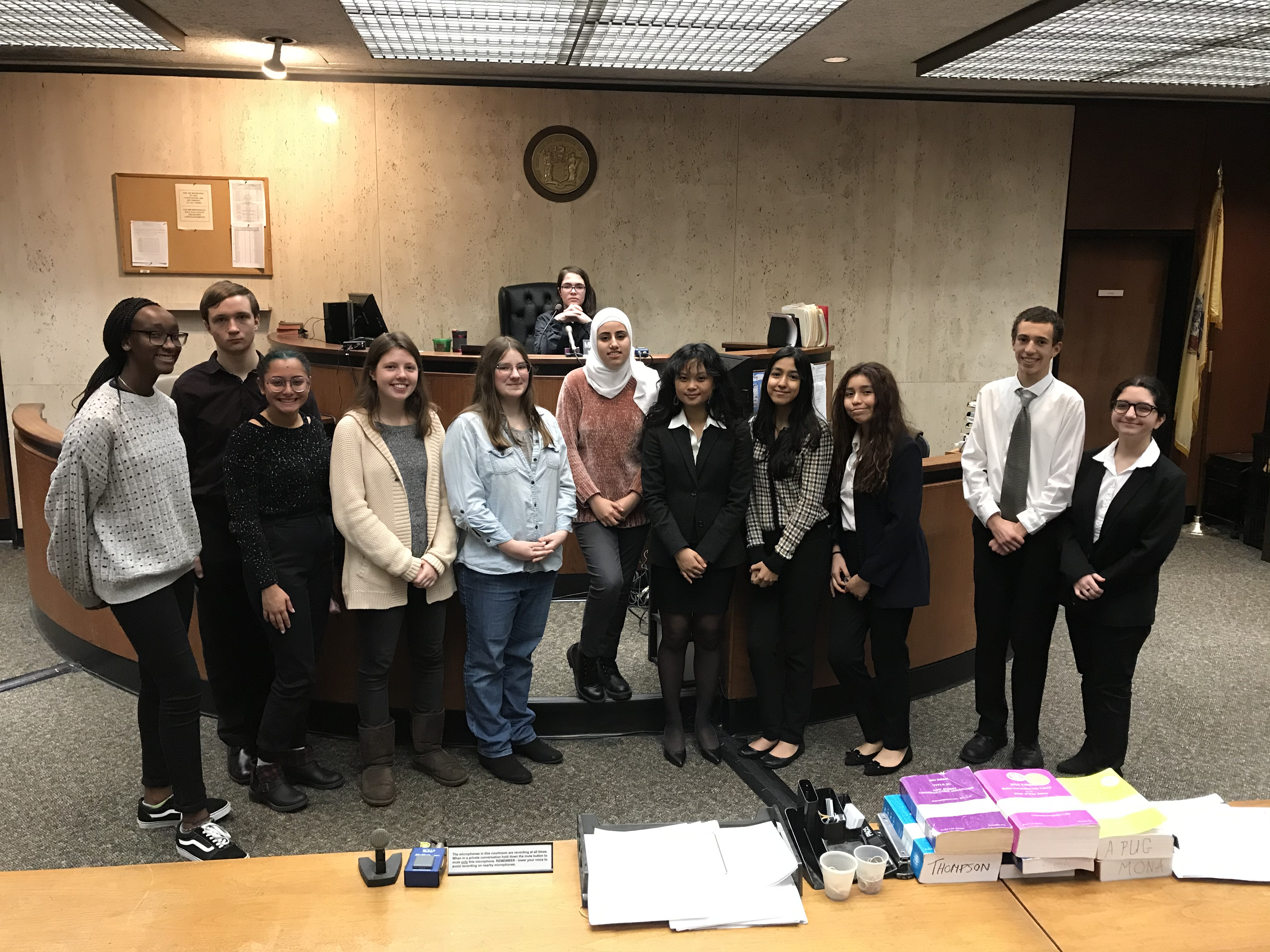 Pictured in round one (left to right) are: Amandine Soho, Nicholas  Russo, Emory Osmani, Hannah Lewis, Emily Jablonowski, Paul Ziek, Noor  Alalwan, Kat Guimary, Basma Benhibbou, Karen Tantalean, Adam Benali,  and Yuna Mehdizadeh