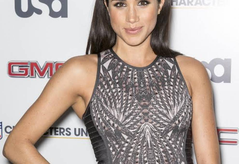 This is a picture of Meghan Markle!