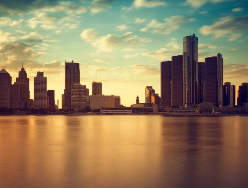 Water crisis in the city of Detroit, Michigan