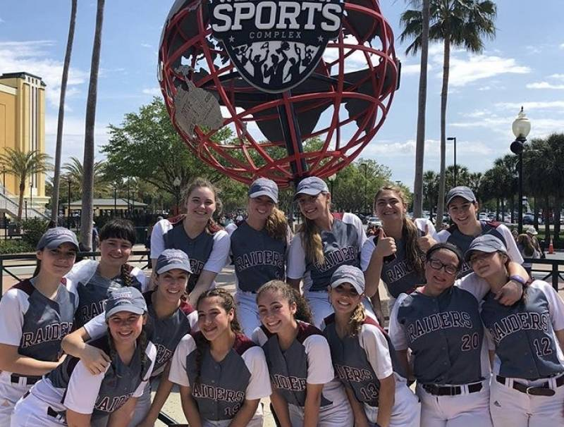 NHS Softball Team at ESPN Wide World of Sports Complex