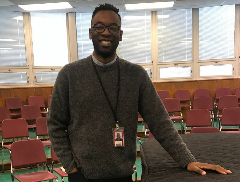 New Choir Teacher Mr. Gaines