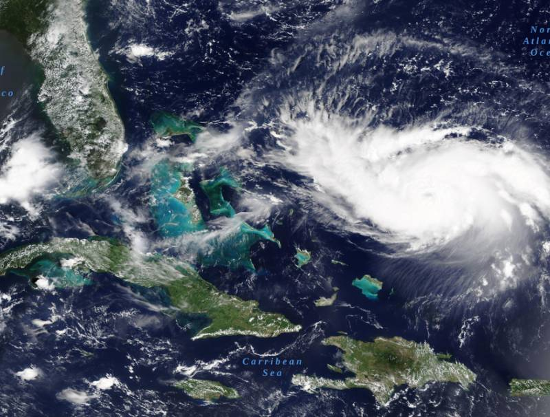 Photo of Hurricane Dorian