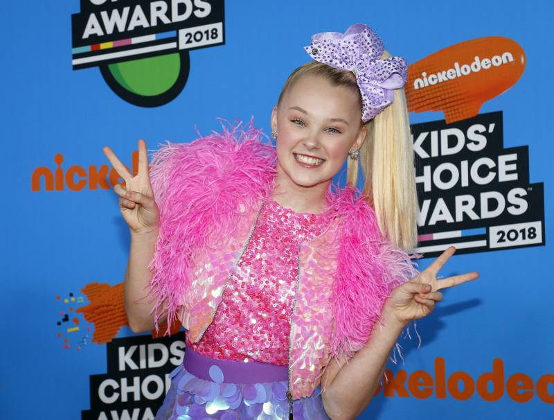 Jojo Siwa at the 2018 Kids Choice Awards