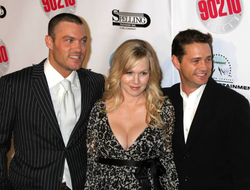 Brian Austin Green, Jennie Garth and Jason Priestley